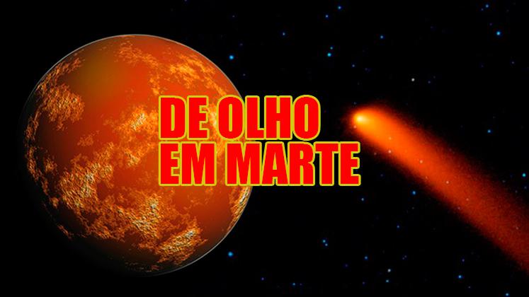 Cometa passa por Marte e agita comunidade científica