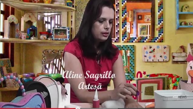 Artes na Cidade no Circuito Cultural e com Aline Sagrillo