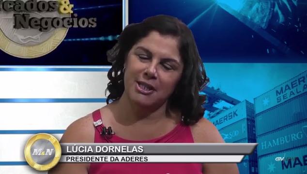 Mercados & Negócios entrevista presidente da ADERES Lucia Dornelas