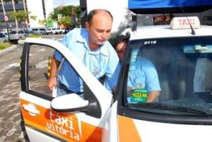 Vistoria dos táxis de Vitória