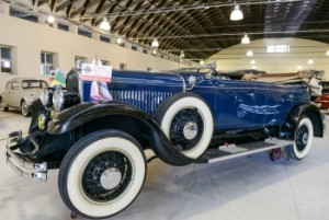 Exposição de Carros Antigos na Fábrica de Ideias