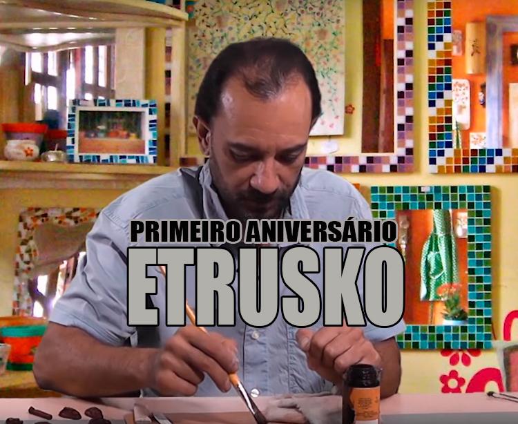 Primeiro aniversário do Programa  Artes na Cidade – Luca Fontana (Etrusko)