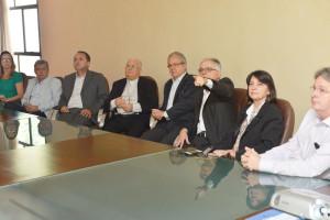 A reunião teve representantes doo governo do ES e de municípios da Grande Vitória