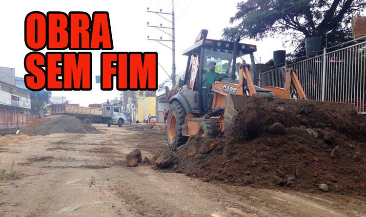 Trecho da Leitão da Silva interditado até fevereiro