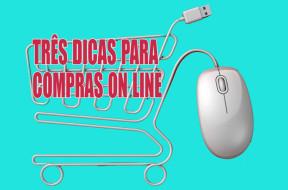 Dicas de compras pela internet