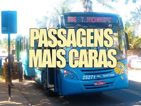 Andar de ônibus na Grande Vitória já custa R$ 2,75