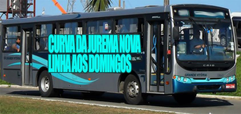 Curva da Jurema ganha nova linha de ônibus