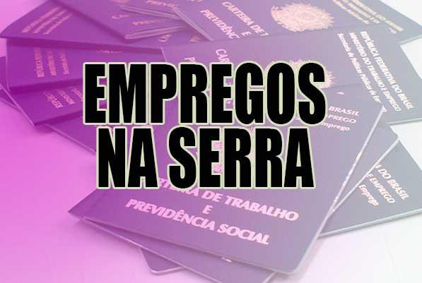 Sine da Serra tem 40 vagas de motorista