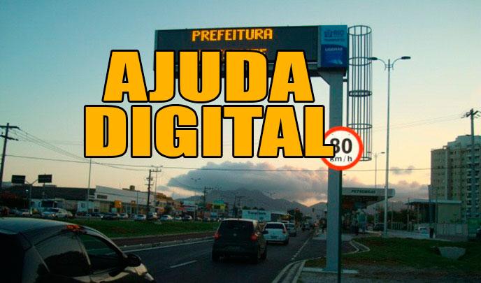 Prefeitura estuda colocar painéis com informações para orientar motoristas e melhorar o trânsito da capital