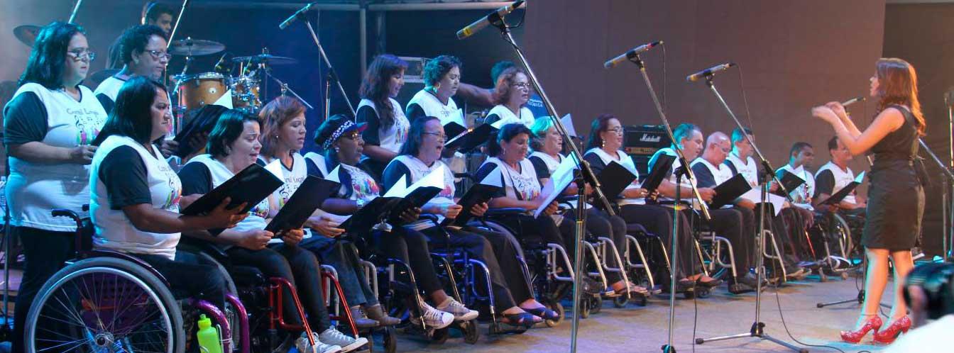 Coral inscreve pessoas com deficiência