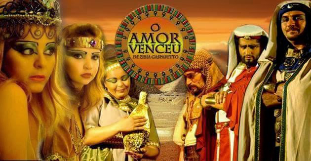 'O amor venceu' no palco do Theatro Carlos Gomes