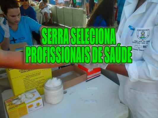 Concurso para enfermeiros e técnicos na Serra