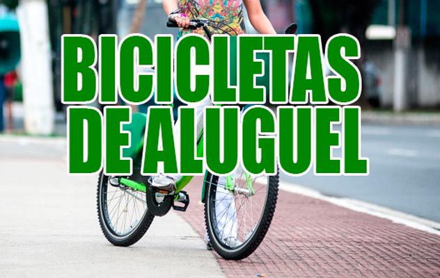 Vitória vai ter bicicletas para alugar para crianças
