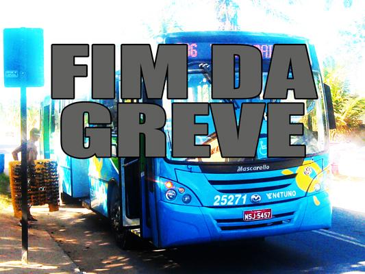 Ônibus: greve chega ao fim
