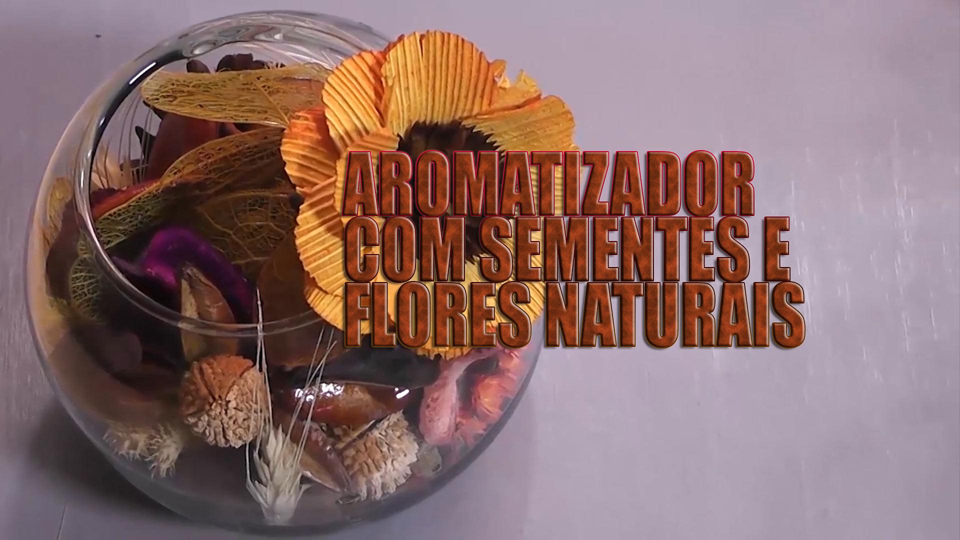 Reciclagem aproveita produtos naturais para criar aromatizador