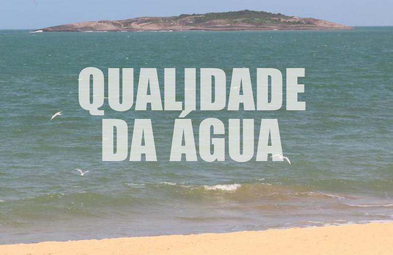 Praias de Vila Velha estão próprias para banho