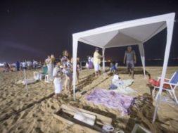 Tendas na Areia