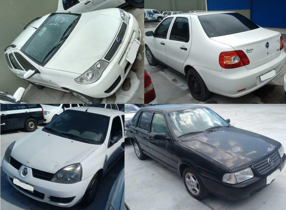 Leilão de Veículos tem lance inicial de 500 reais