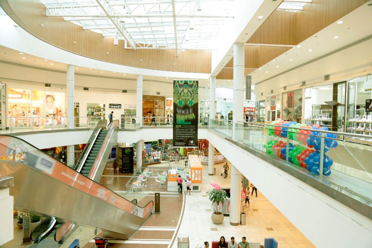400 vagas de emprego em lojas de shopping