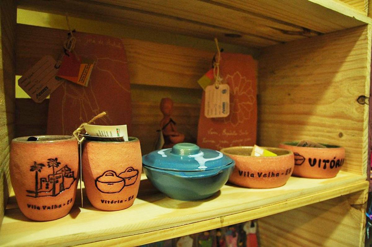 Artesanato Capixaba tem loja no Horto Mercado
