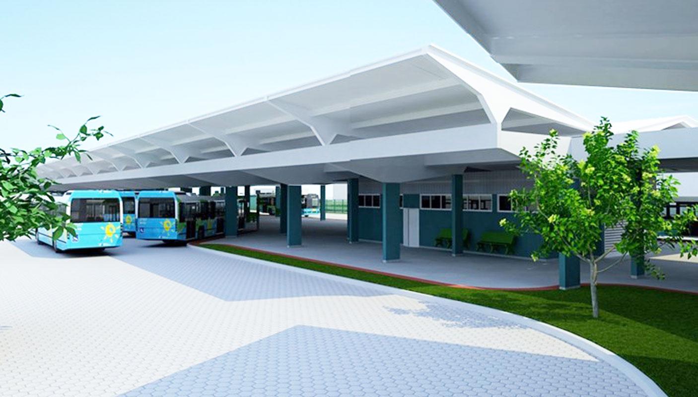 Transcol: terminal de Itacibá ganha nova plataforma