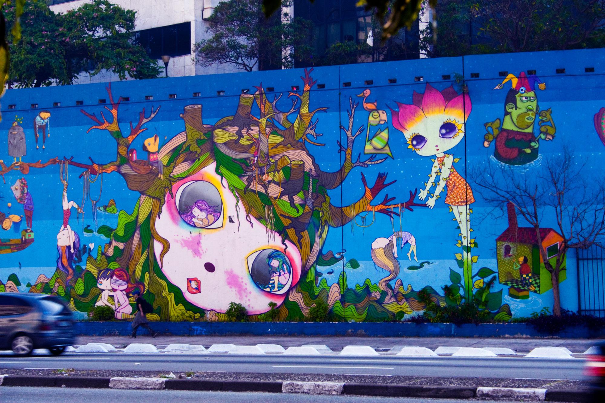 Fundão recebe nova edição do projeto Arte no Muro