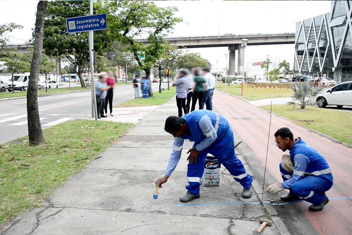 Nova opção de saída do bairro Enseada do Suá facilitará circulação de veículos