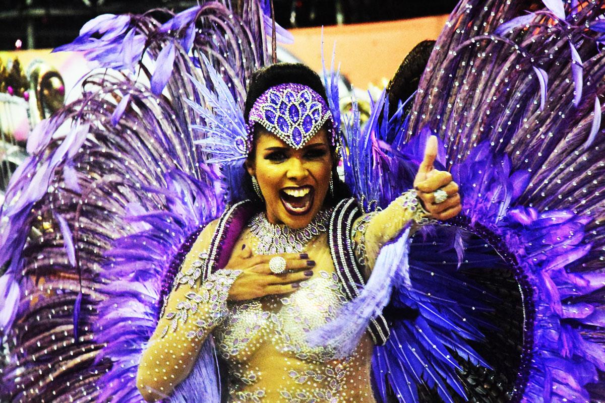 MUG vence o desfile das escolas de samba de Vitória 2018