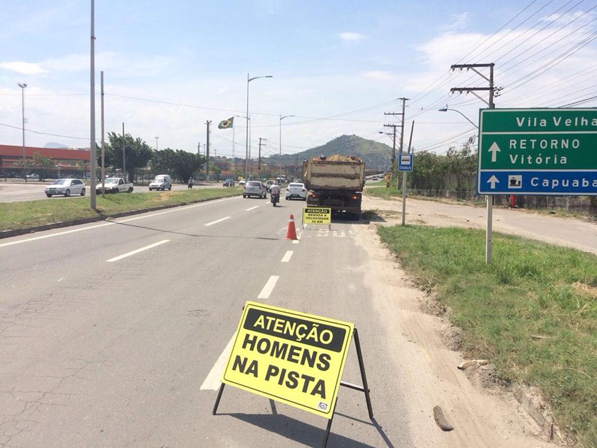 Rodovia Darly Santos será modernizada
