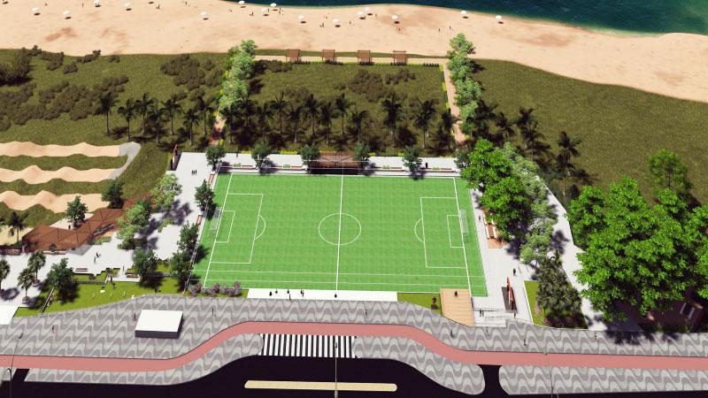 Moradores podem escolher nome de novo parque da praia de Camburi