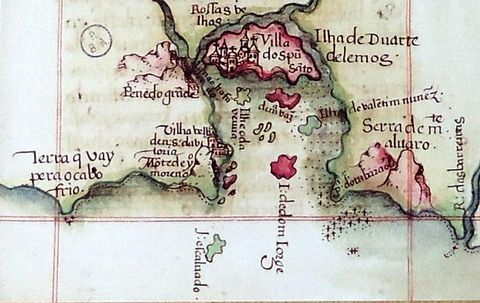 Nova exposição traz mapas antigos ao Arquivo Público
