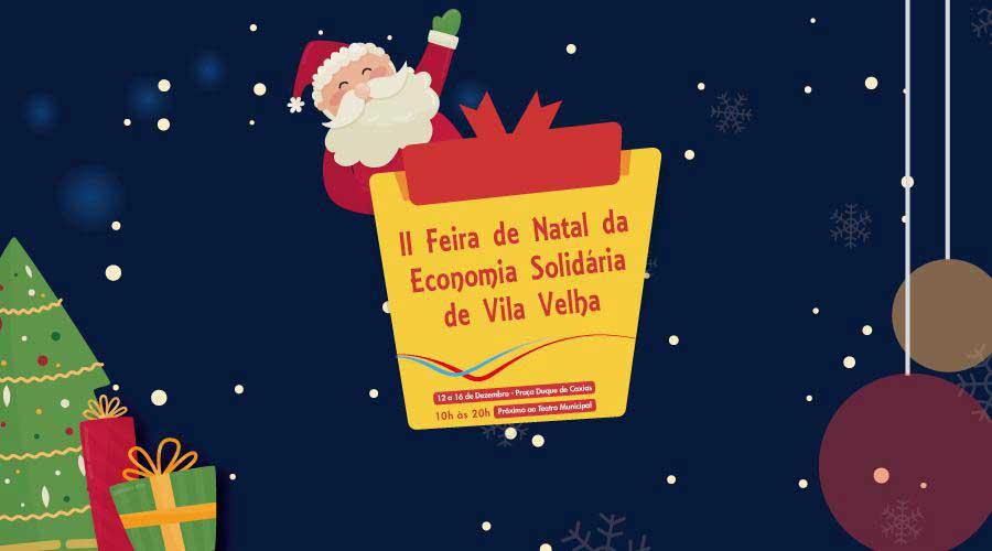 II Feira de Natal começa nesta quarta-feira (12)