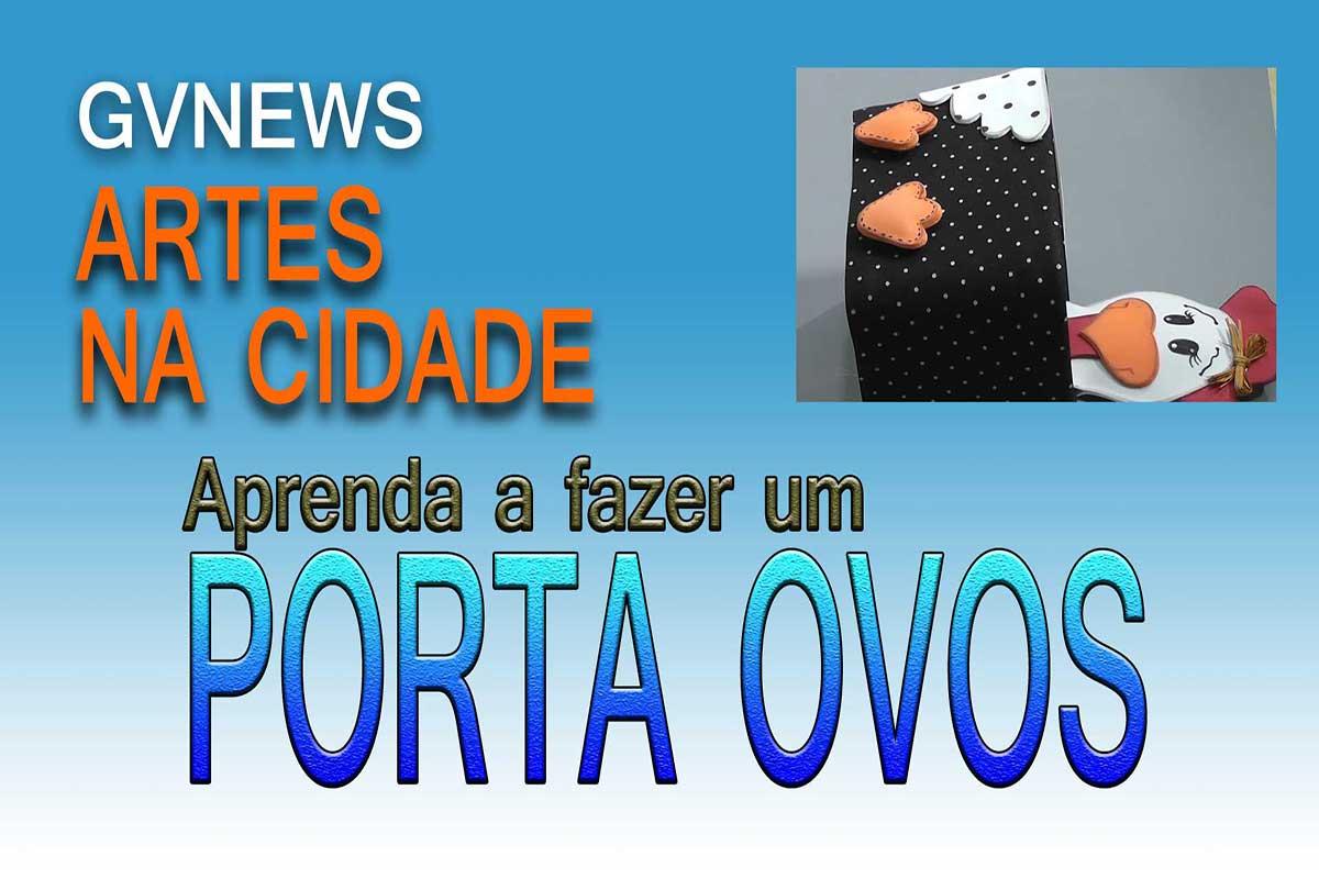 DICAS DE ARTESANATO – Aprenda a fazer um lindo porta ovos com EVA e material reciclado.