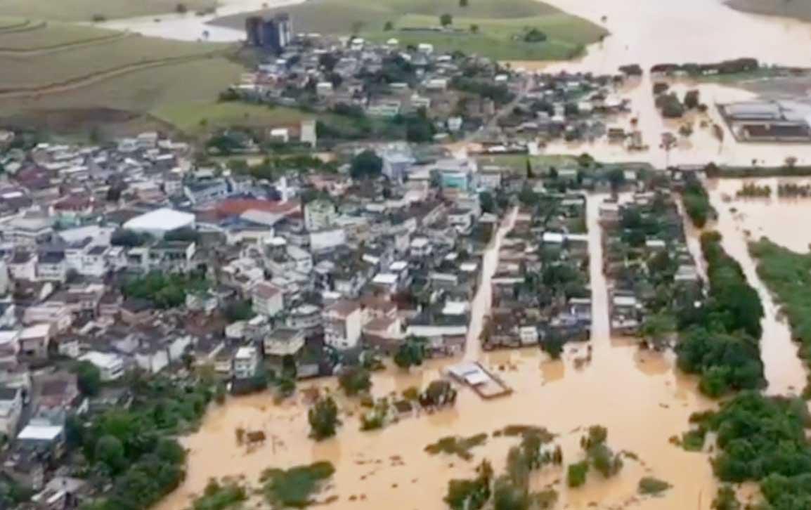 Aumenta número de atingidos pela Chuva no Espírito Santo