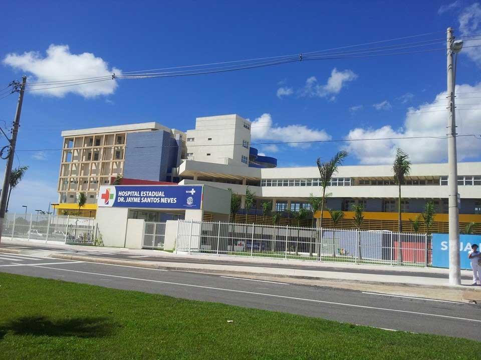 Vagas abertas no Hospital Estadual Dr. Jayme Santos Neves