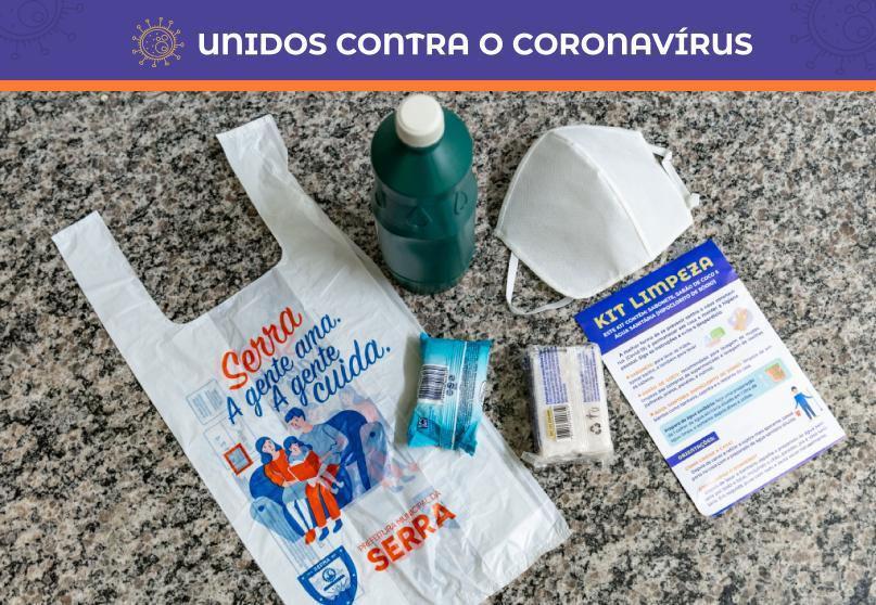 Serra distribui 30 mil kits de limpeza e 60 mil máscaras nos terminais do Transcol